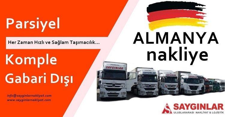 Almanya Parsiyel Taşımacılık