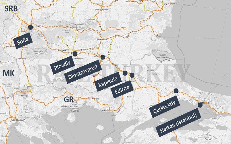bulgaristan parsiyel nakliye