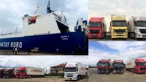 Hatay RORO Suudi Arabistan Yanbu Limanı Servisi