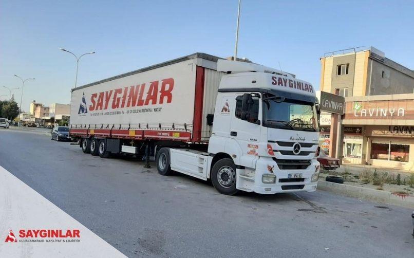 Irak Parsiyel Nakliye Firmaları