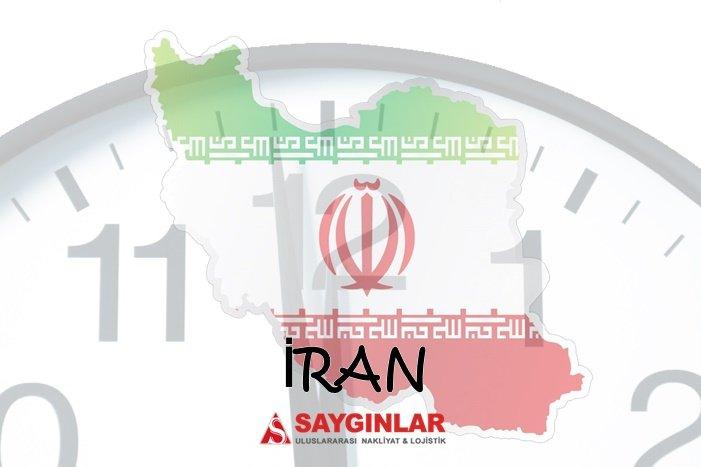 İran Nakliye Transit Taşıma Süresi