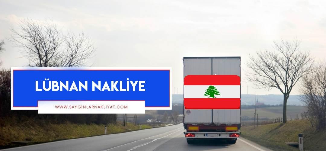 Lübnan nakliye