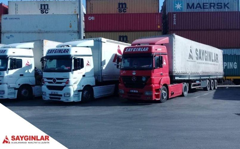 Portekiz parsiyel nakliye