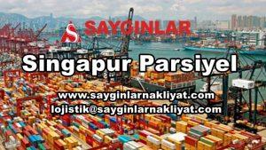 Singapur Parsiyel, Lojistik ve Taşımacılık