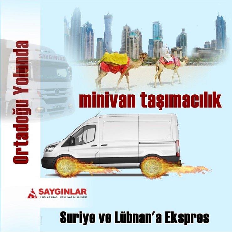 Suriye Minivan Nakliye