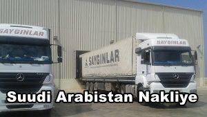Suudi Arabistan Nakliye