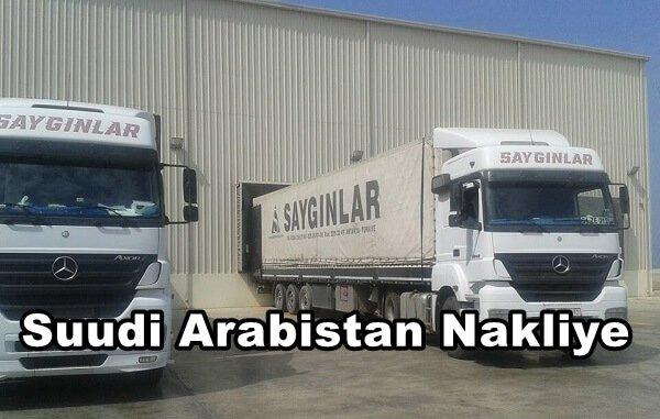 Suudi Arabistan Nakliye Firmaları