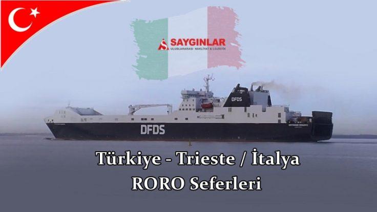 İtalya Trieste RORO