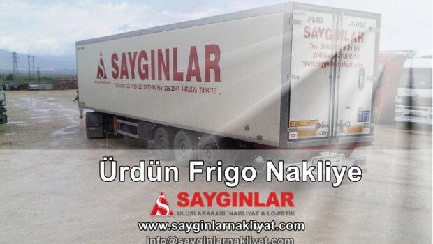 Ürdün Frigo Nakliye